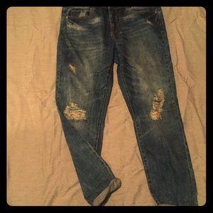Size 31 (12) Joe Fresh distressed Denim Jeans